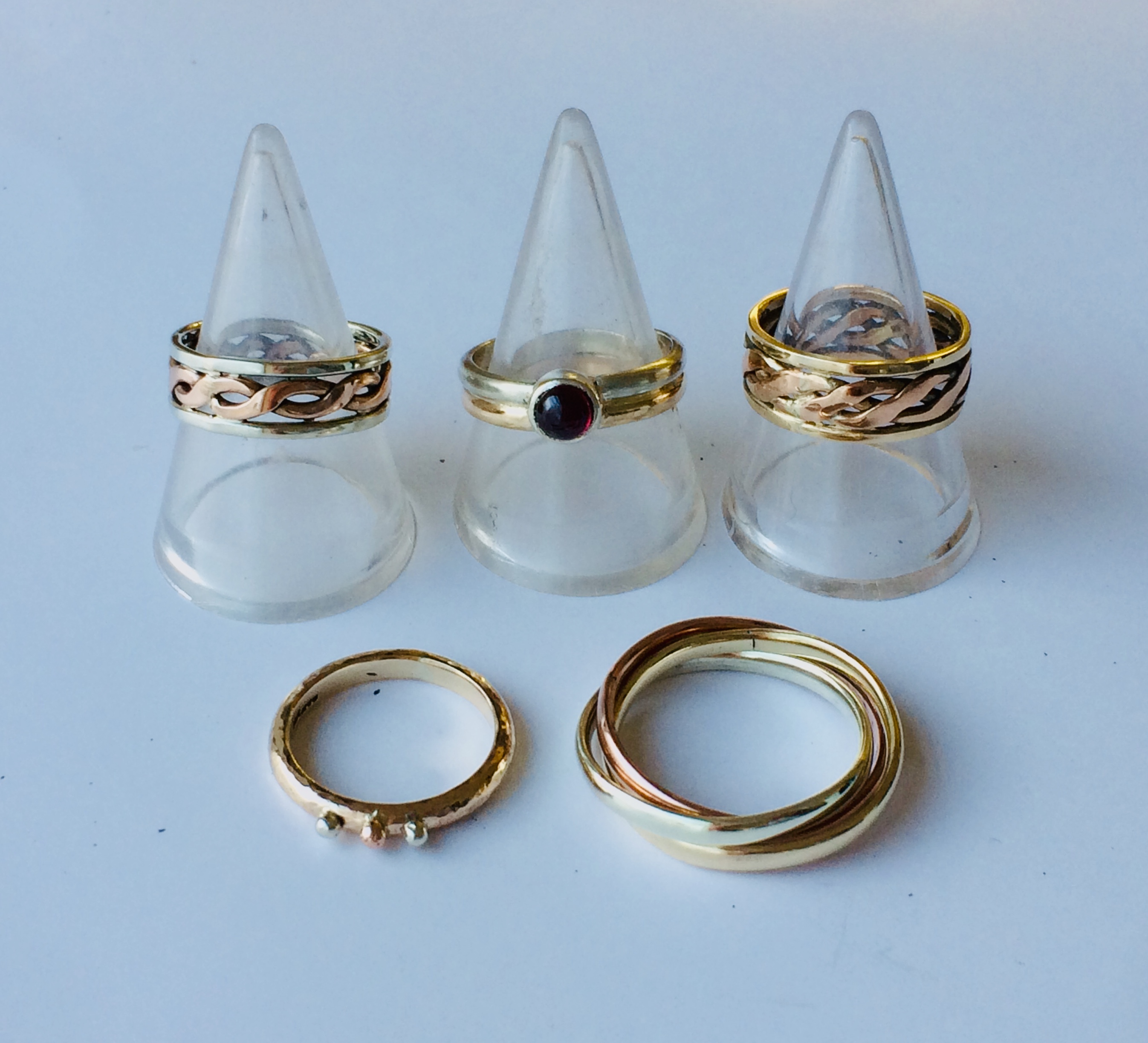 Selection of gold rings
